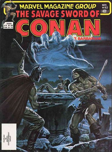 Savage Sword of Conan (1974) 82-A by Marvel