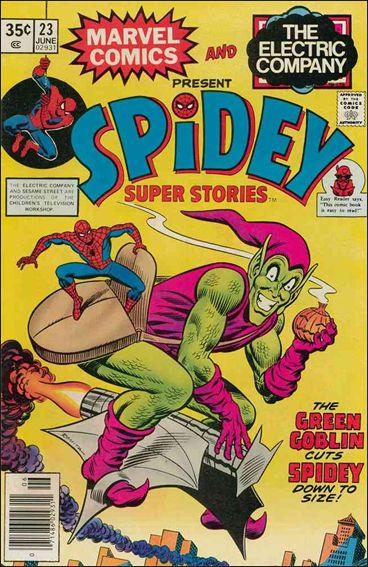 Spidey Super Stories 23-A by Marvel