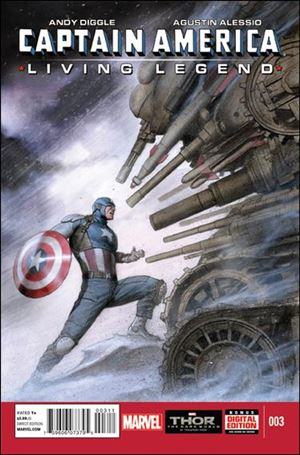 Captain America: Living Legend 3-A