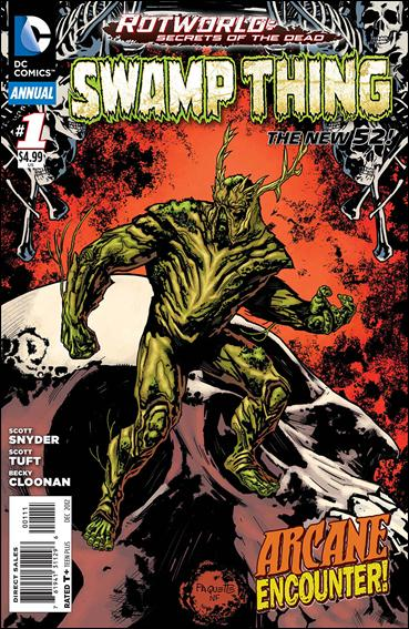 Swamp Thing Annual (2012) 1-A by DC