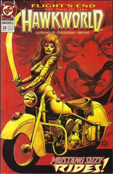 Hawkworld (1990) 28-A by DC