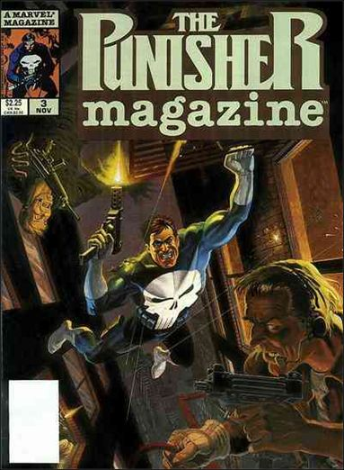 Punisher Magazine 3-A by Marvel