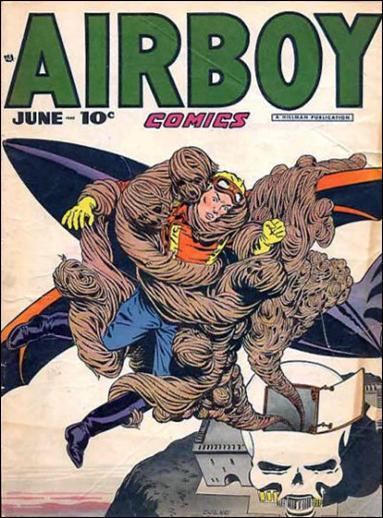 Airboy Comics (1948) 5-A by Hillman