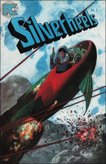 Silverheels 3-A by Pacific Comics
