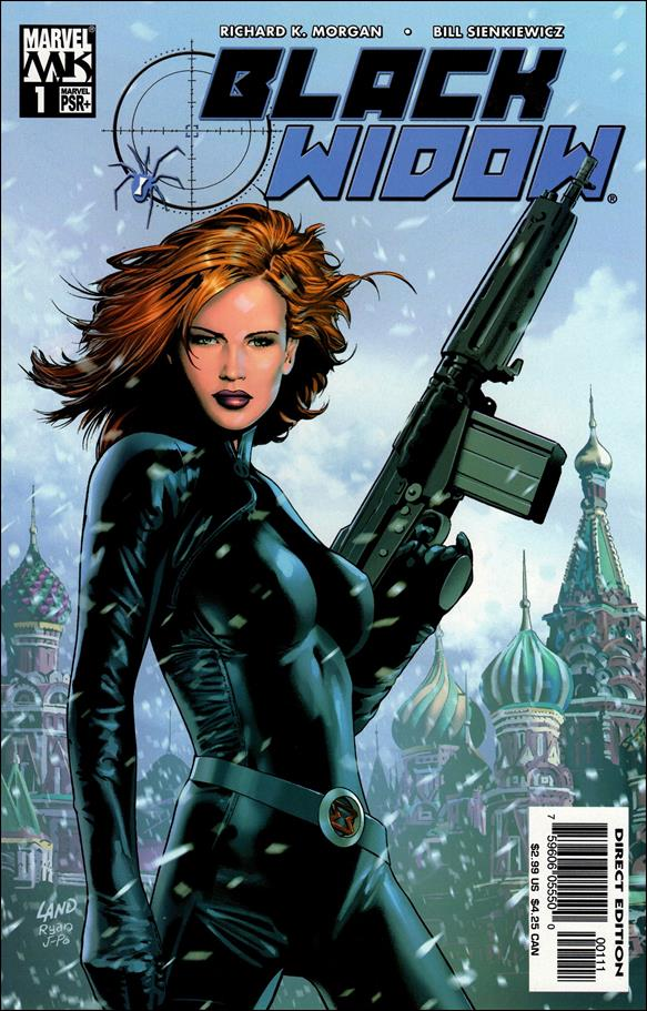 Black Widow (2004) 1-A by Marvel