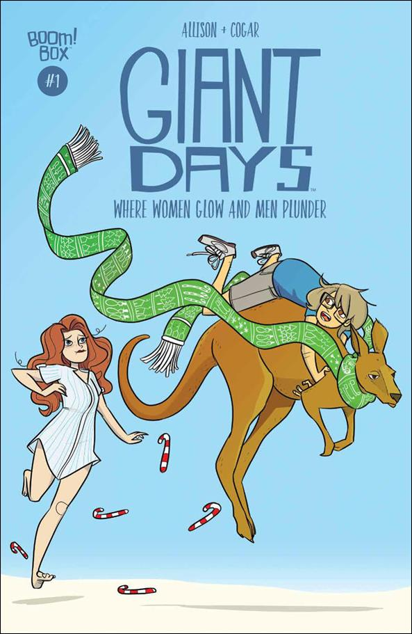 Giant Days: Where Women Glow and Men Plunder 1-A by Boom! Box