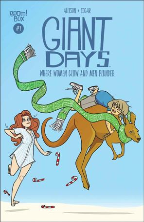 Giant Days: Where Women Glow and Men Plunder 1-A