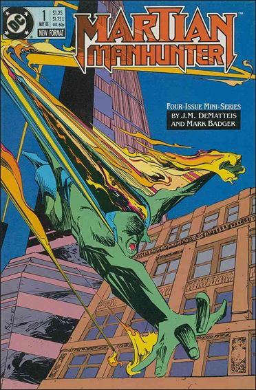 Martian Manhunter (1988) 1-A by DC