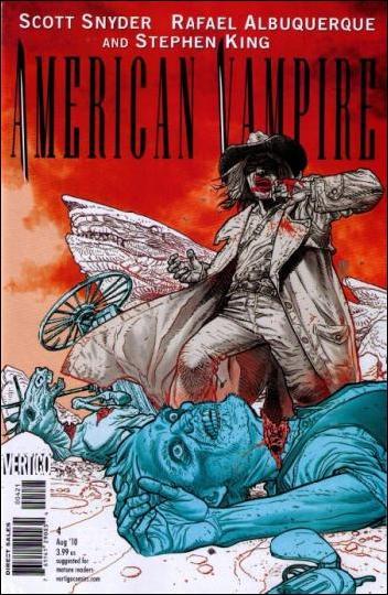 American Vampire 4-B by Vertigo