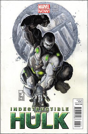 Indestructible Hulk 3-B by Marvel
