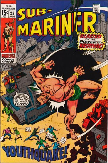Sub-Mariner (1968) 28-A by Marvel