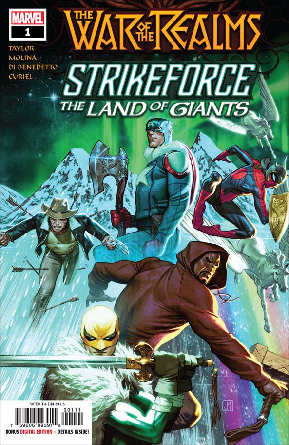 War of the Realms Strikeforce: The Land of Giants 1-A by Marvel