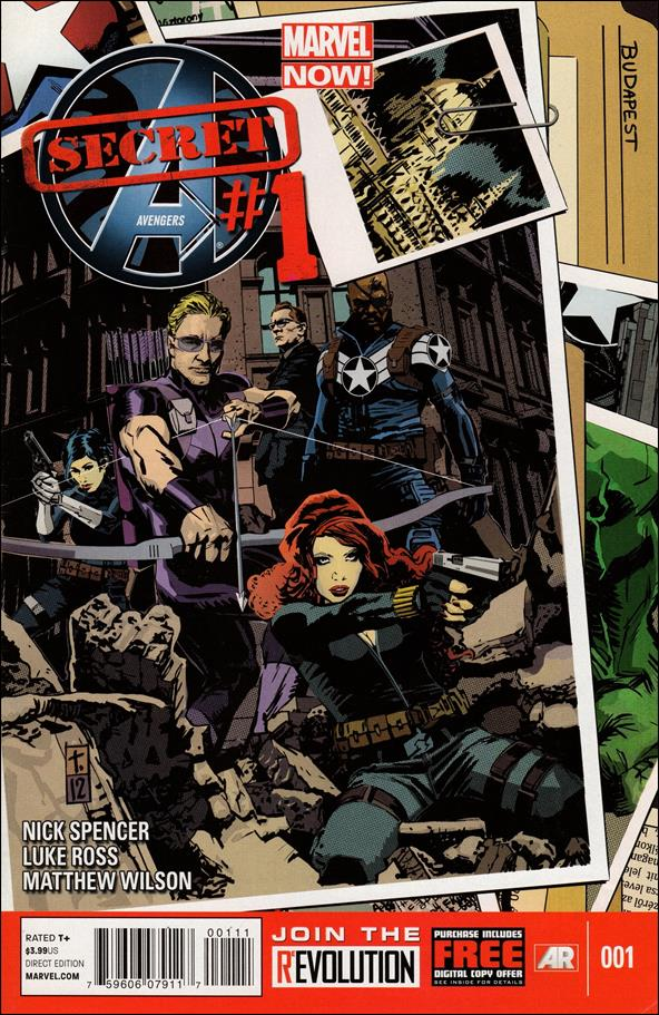 Secret Avengers (2013) 1-A by Marvel