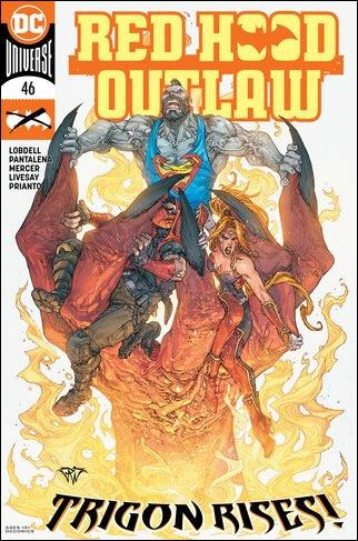 Red Hood: Outlaw 46-A by DC