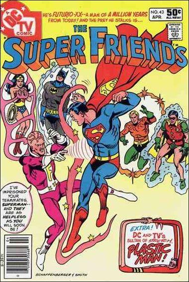 Super Friends (1976) 43-A by DC