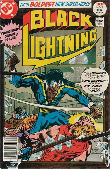 Black Lightning (1977) 1-A by DC