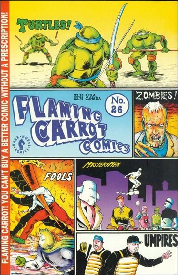 Flaming Carrot Comics (1984) 26-A by Dark Horse