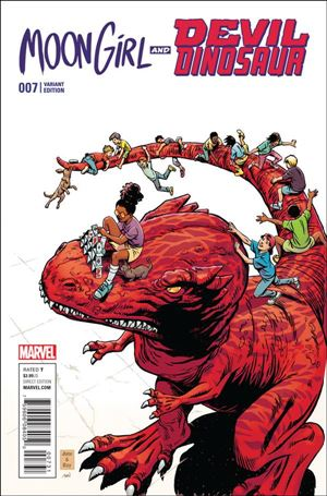 Moon Girl and Devil Dinosaur 7-B