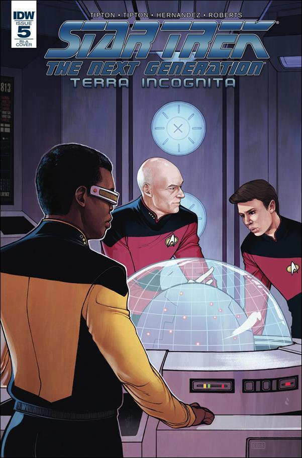 Star Trek: The Next Generation: Terra Incognita 5-C by IDW