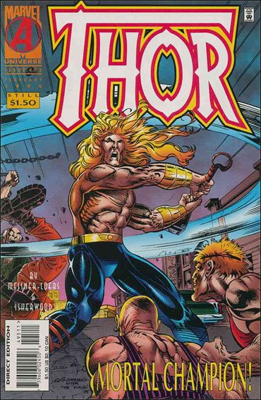 Thor (1966) 495-A by Marvel