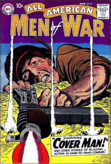 All-American Men of War 67-A by DC