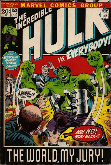 Incredible Hulk (1968) 153-A by Marvel