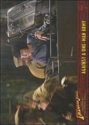 Indiana Jones and the Kingdom of the Crystal Skull (Base Set) 55-A