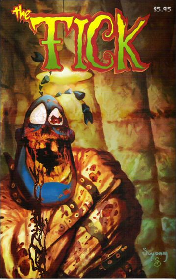 Tick's 20th Anniversary Special Edition 1-A by New England Comics Press (NEC / NECP)