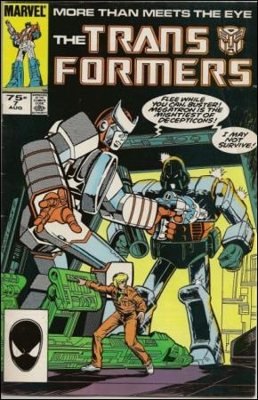 Transformers (1984) 7-D by Marvel
