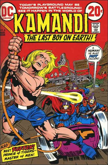 Kamandi, the Last Boy on Earth 4-A by DC