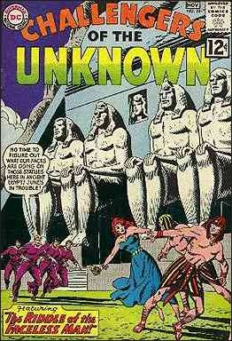 Challengers of the Unknown (1958) 28-A by DC