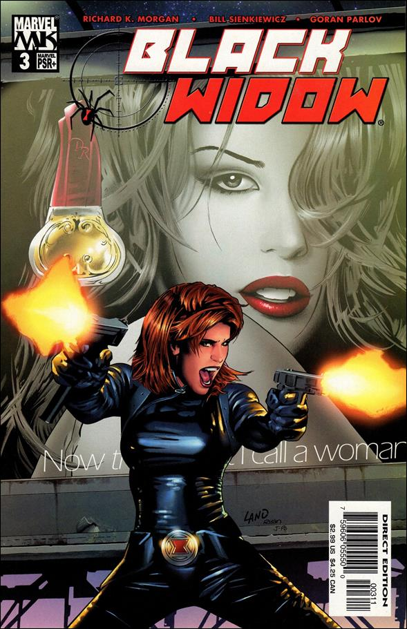 Black Widow (2004) 3-A by Marvel