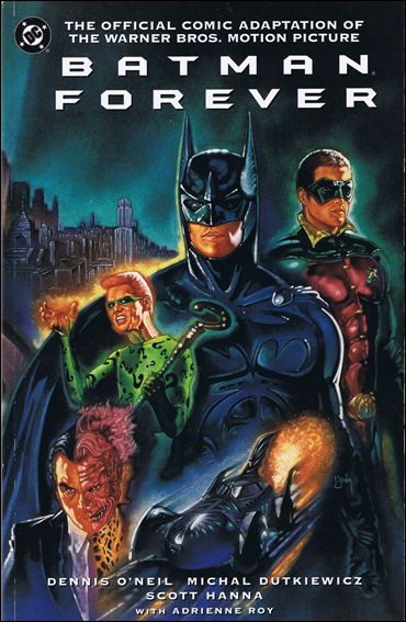 Batman Forever: The Official Comic Adaptation of the Warner Bros. Motion Picture 1-B by DC