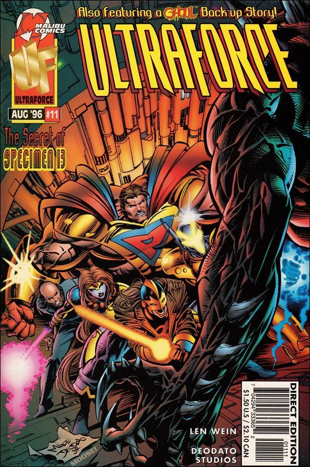 UltraForce 11 A, Aug 1996 Comic Book by Malibu