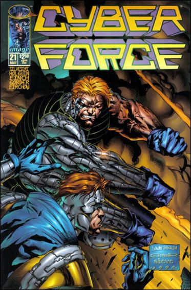 Cyberforce (1993) 21-A by Image