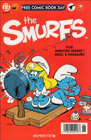Smurfs, A Free Comic Book Day Comic Book nn1-A