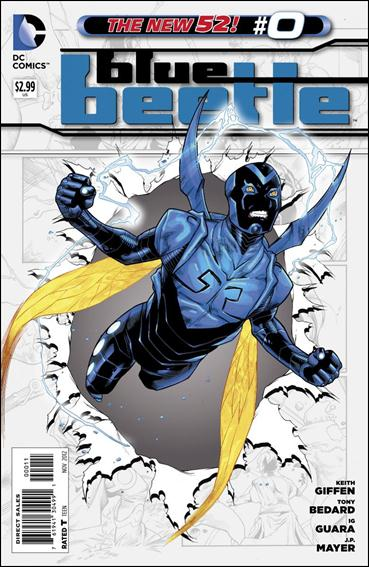 Blue Beetle (2011) 0-A by DC