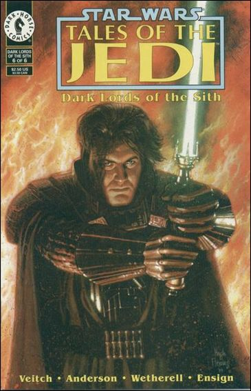 Star Wars: Tales of the Jedi - Dark Lords of the Sith, Book One 6-A by Dark Horse