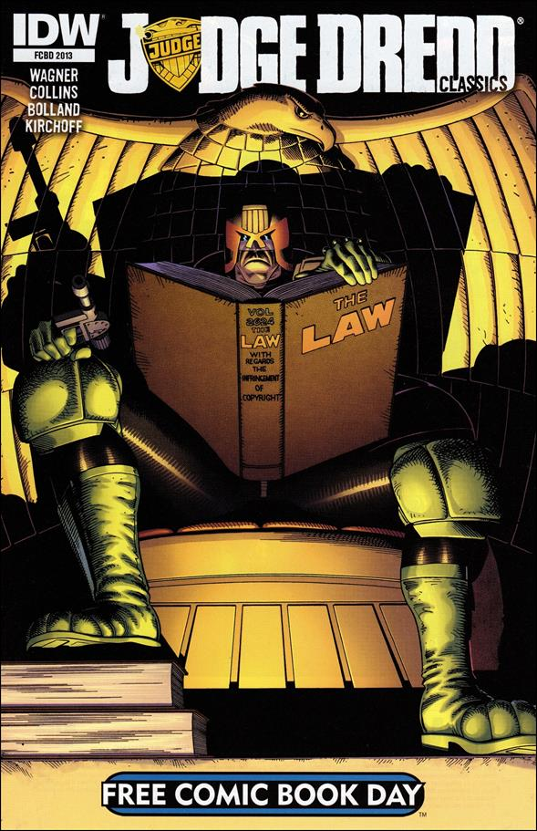 Free Comic Book Day 2013: Judge Dredd Classics nn-A by IDW