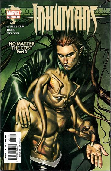 Inhumans (2003) 11-A by Marvel