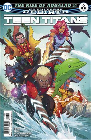 Teen Titans (2016) 6-A