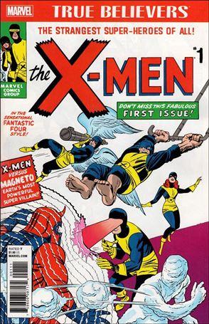 X-Men (1963) 1-B