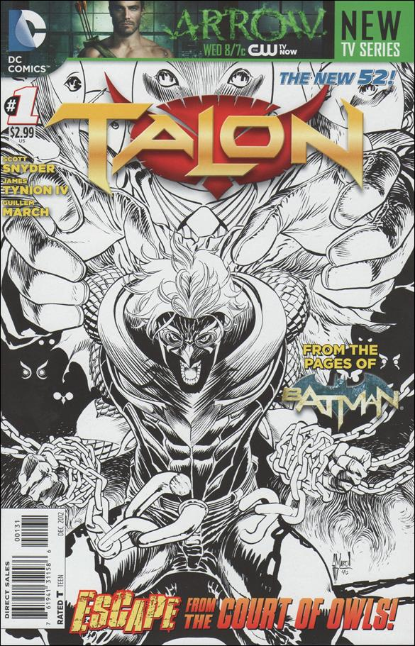 Talon (2012) 1-C by DC