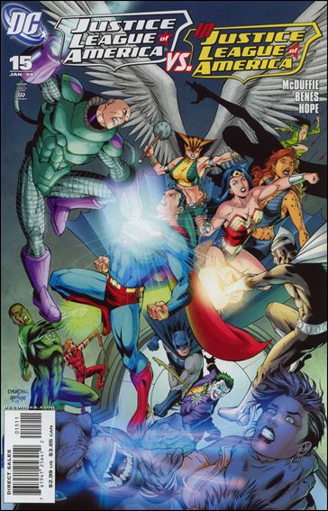 Justice League of America (2006) 15-A by DC