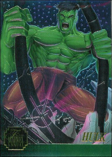 Marvel Annual Flair '95 (Chromium Subset) 5-A by Fleer