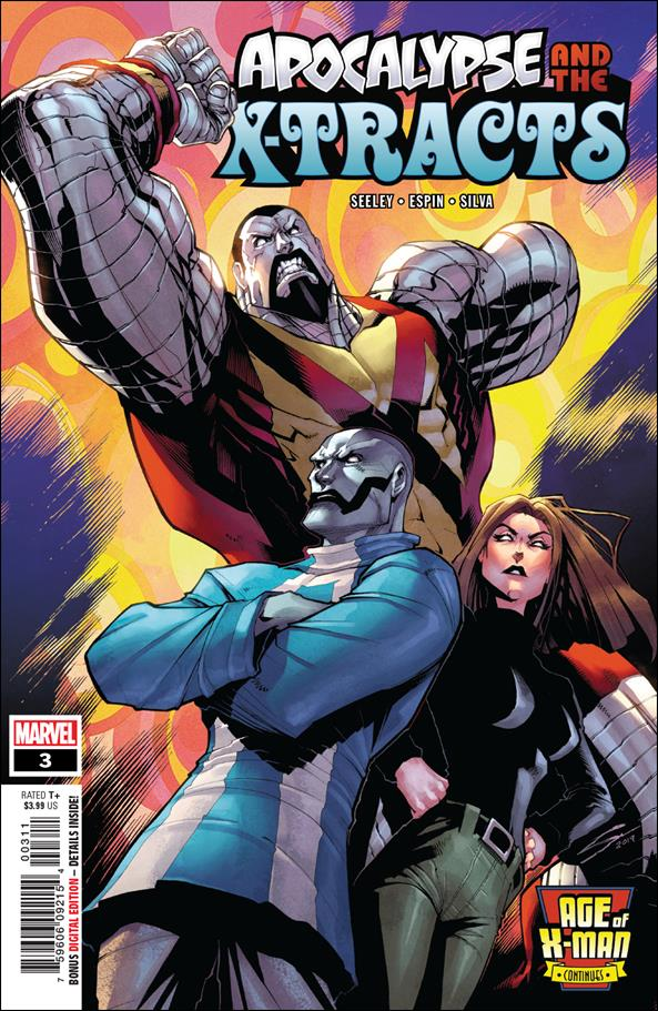 Age of X-Man: Apocalypse and the X-Tracts 3-A by Marvel