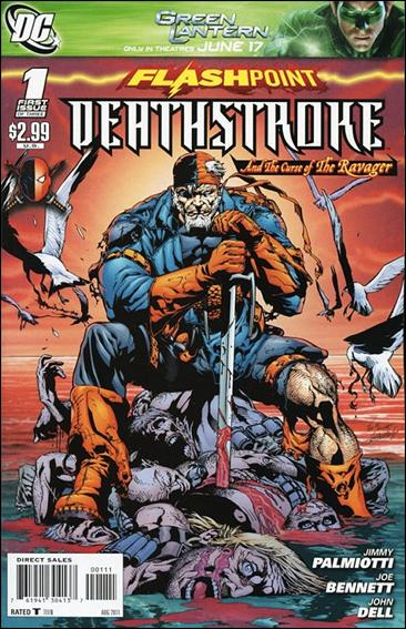 Flashpoint: Deathstroke & the Curse of the Ravager 1-A by DC