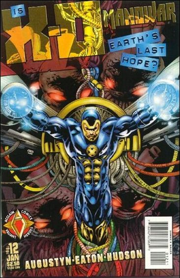 X-O Manowar (1997) 12-A by Acclaim