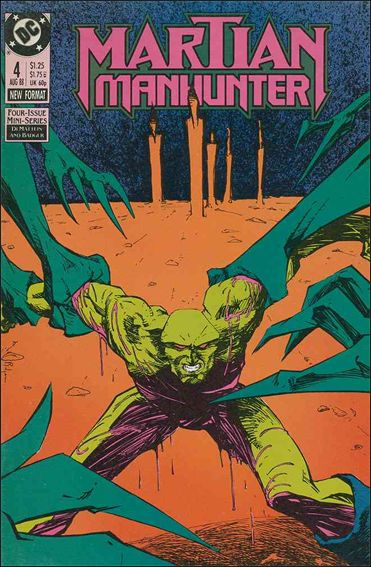 Martian Manhunter (1988) 4-A by DC