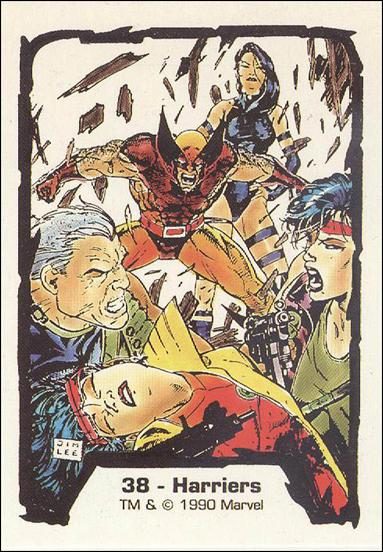 Jim Lee Series 1 (Base Set) 38-A by Comic Images